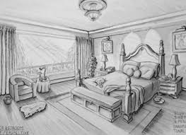 Two Point Perspective Living Room Two Point Perspective Living Room Bedroom  On One Point Perspective Bedroom