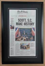 Shop Frame Framed Newspaper – Columbia Articles
