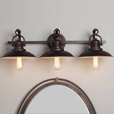 vintage vanity lighting. Station Lantern Bath Light - 3 Vintage Vanity Lighting