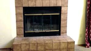 glass door fireplace insert fireplace ideas