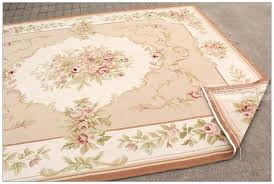 shabby chic area rugs wonderful 8 wool hand woven french style rug on