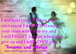 Love You Forever Quotes Delectable I Will Love You Forever And Always Wisdom Quotes Stories