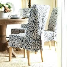 chair slip covers slip covered dining room chairs home and interior endearing linen dining room chairs