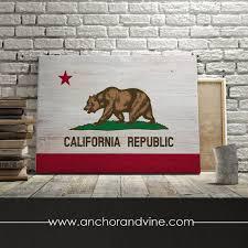 california flag canvas