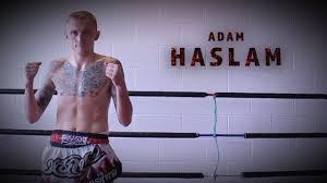 GFC Muay Thai fighter - Adam Haslam - YouTube