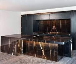 black kitchen cabinets with white marble countertops. Black Marble Countertops White And Kitchen With Herringbone Tiles Cabinets .