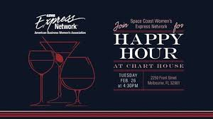Abwa Scwen Happy Hour At Chart House Florida