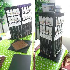 Stand Alone Spinning Pegboard Display Rack This Is Dollar Pegboard Rotating Jewelry Display Designed And Made Last Week Cheap And Easy For Craft Fair Selling Antiwrinkleeyecream Spinning Pegboard Display Rack This Is Dollar Pegboard Rotating