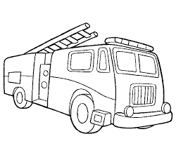 Auto Kleurplaten Brandweer