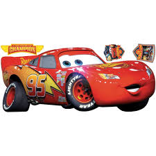 Lightning Mcqueen Bedroom Furniture Disney Cars Lightning Mcqueen Champion Wall Accent Decals Disney