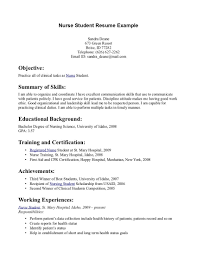 Sample Student Nurse Resume Tips for Student Nurse Resume Writing Resume Sample Student Resume 2