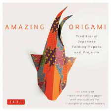 Amazon Com Amazing Origami Kit Traditional Japanese Folding Papers