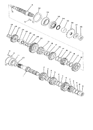 1977 yamaha xt500 xt500d transmission parts best oem transmission ya4211 15 m147210sch228999