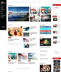 Website Template Newspaper Magazine Website Template Wordpress Top Awesome Free Premium