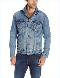 denim jacket men levi s men s trucker denim jacket