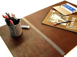 leather desk blotter paper decorative pads and with inspirations 7