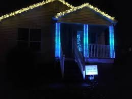 Hanging Icicle Lights On House How Do I Hang Christmas Light Pixels On My House Learn