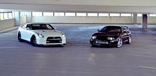 Toyota Supra Nissan GT-R (2)