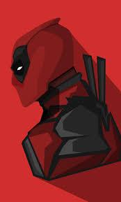deadpool marvel ics minimal 1280x2120 wallpaper