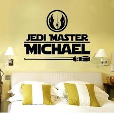 wall decals star wars plus newest star wars wall stickers 2 styles star wars logo letter