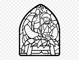 Coloring pages are fun for children of all ages and are a great educational tool that helps children develop fine motor skills, creativity and color. Nativity Scene Christmas Decorations Coloring Stained Glass Nativity Coloring Page Free Transparent Png Clipart Images Download