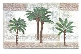 palm tree bath decor palm tree bathroom set palm tree bath set tropical decor shower curtain
