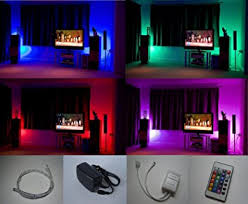 led mood lighting. colour changing led mood light kit with ir remote control 4 x 500mm strips led lighting o