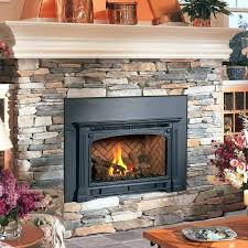 cost to install gas fireplace insert average cost gas fireplace insert installation cost to install gas