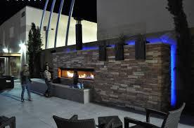 outside gas fireplace ideas