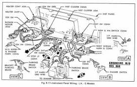 light duty truckcar wiring diagram page 3 instrument panel wiring g models for 1979 gmc light duty truck part 2
