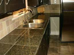 ceramic tile kitchen countertop top island luxury cute tiles best tiled for