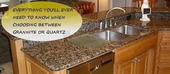 atemberaubend quartz vs granite countertops for kitchens kitchen within or plan 14