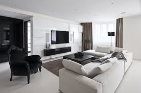 White And Black Living Room Turquoise Bedroom With Black Furniture Wall Moulding Ideas In