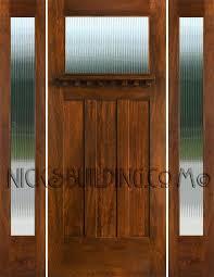 reeded glass door craftsman exterior door with sidelights and glass reeded glass cabinet doors