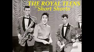 Short shorts by royal teens