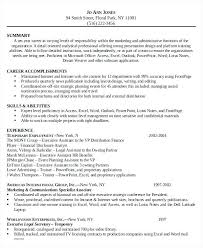 Personal Assistant Resume Resume Objective For Personal Assistant