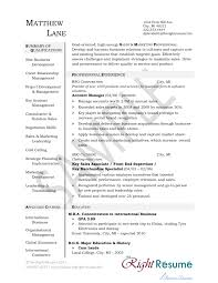 Business Acumen Resume Examples Best Of Free Account Manager Resume