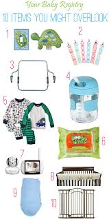 list of items needed for baby baby registry 10 items you might overlook baby kerf