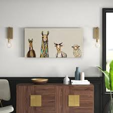 Farm <b>Animal Canvas Art</b>   Wayfair