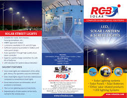 Downloads  RCB SolarSolar Street Light Brochure