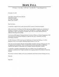 Majestic Nursing Resume Cover Letter 4 Sample For Registered