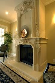 ornate fireplace