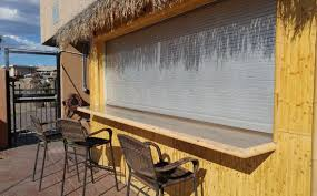 tiki bar outside patio picture of