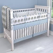 elephant nursery bedding sets project sewn neutral gender baby