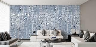 Tapeten Blau Design Von Mowade