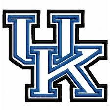 University Logo Embroidery Designs Uk Applique Machine Embroidery Design 4x4 5x7 6x10 Kentucky
