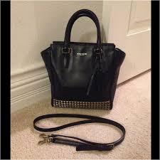 Coach Mini Tanner Studded Handbag