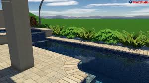 E Pool Studio  3D Swimming Design Software Designed And Created By  American Beauty Pools