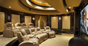Home Theatres Designs Custom Decoration