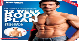 men s fitness 12 week body plan mens health by nick mitc